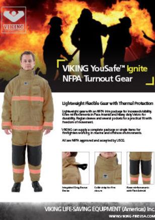 VIKING YouSafe Ignite NFPA Turnout Gear