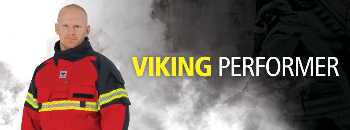 VIKING Performer Firefighter Suit Flexibility HupF DuPont Kevlar Steel Grid  EN469 PS1030 PS1080