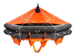 VIKING Liferaft davit launchable 25 pers. - 25DKF