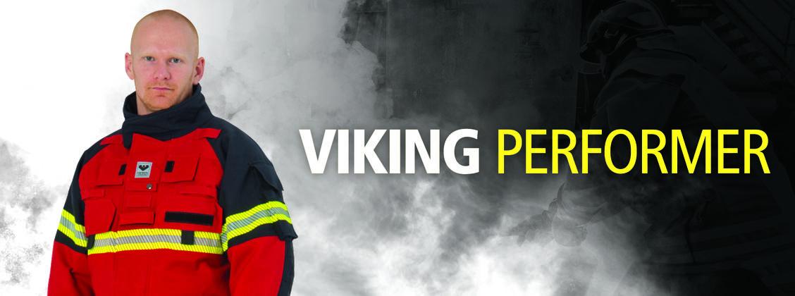 VIKING Performer Firefighter Suit Flexibility HupF DuPont Kevlar Steel Grid  EN469 PS1030 PS1080
