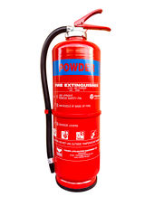 VIKING Fire Extinguisher, 6 kg, ABC Powder, Cartridge Operated