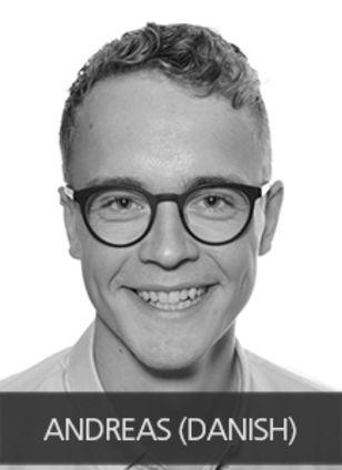 VIKING-life Andres Nielsen, Trainee