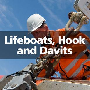 VIKING Lifeboats, Hooks Davits Nadiro