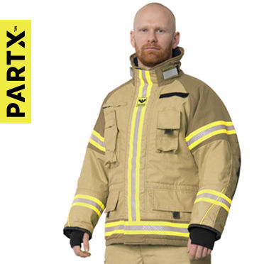 PartX Fire fighter suit Particle protection EN469 Design  Nano technology