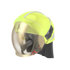 Magma Fire Helmet Type A, High VIS Yellow