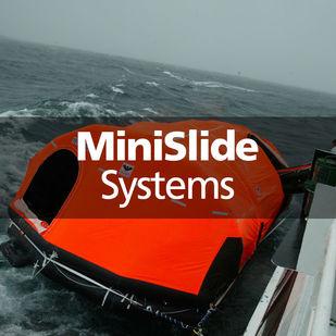 VIKING Minislide systems MES liferaft