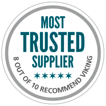VIKING rated most trusted safety supplier by customers