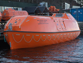 VIKING Norsafe JYN-115 totally enclosed lifeboat - maximum 136 persons