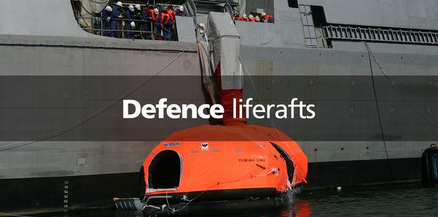 VIKING defence liferafts