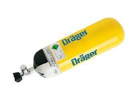 Cylinder, Dräger, Steel, 6 Liter/300 Bar, Full