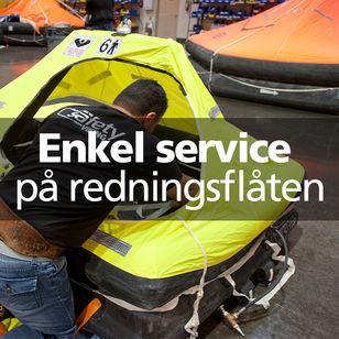VIKING redningsflåten service